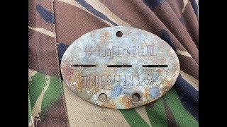 Боец войск SS и советский солдат в одном раскопе (часть 2) / soldier of the division ss WW2