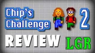 LGR - Chip's Challenge 2 - PC Game Review (Video Game Video Review)