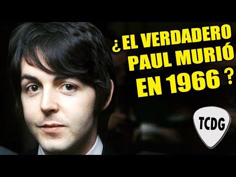 PAUL MC CARTNEY murió en 1966 y fue reemplazado por un imitador