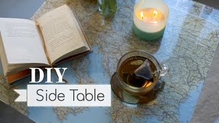 Diy: Recycle That Side Table ∞ Trash To Fab W/ Anneorshine