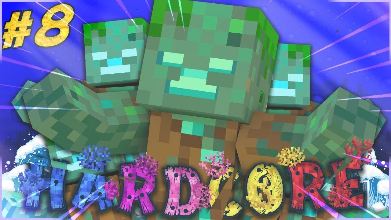 FARM DI DROWNED E TRIDENTE - Minecraft ITA - Hardcore 1.13 ...
