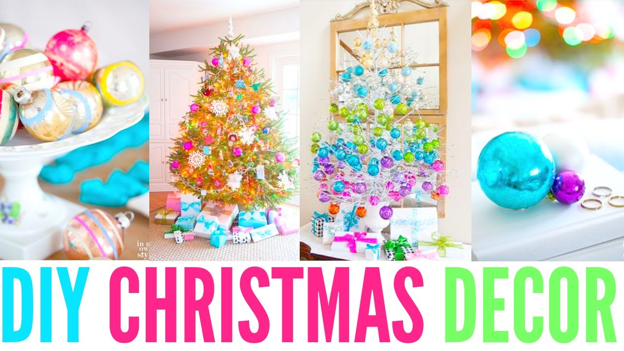 Decorate My House For Christmas cwm: decorating my room for christmas! +diy´s and organizing