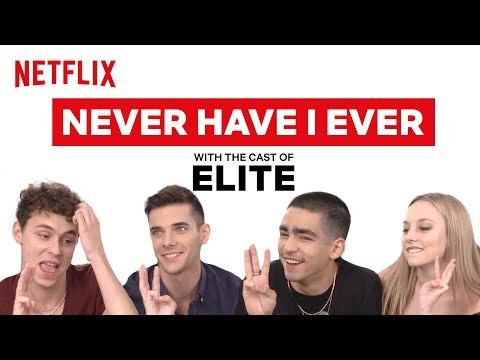 The Cast of Elite Plays Never Have I Ever | Netflix