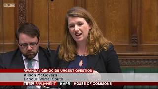 UK Parliament Urgent Question Time on Fugitives of the Genocide against the Tutsi living in the UK