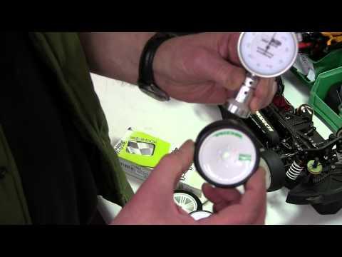 Durometer Test Of Model Car Tyre Hardness