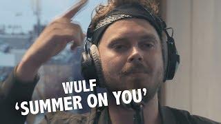 Wulf - 'Summer On You' (acoustic, original with Sam Feldt, Lucas & Steve) @ live Ekdom in de Ochtend