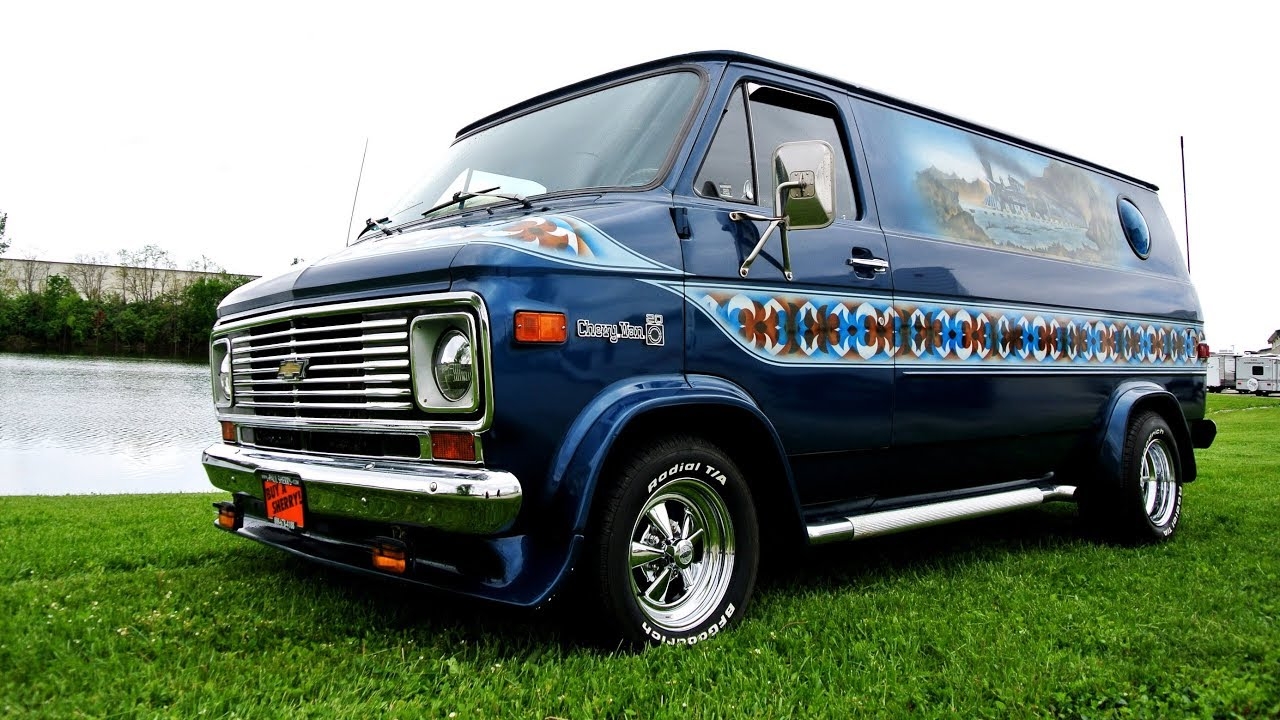 1977 Chevrolet Hop Cap Van Tastic Conversion Van | Paul Sherry ...