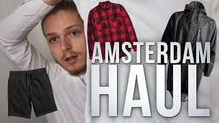 Amsterdam Haul + Try On // RAINS, TopMan, Samsøe & Samsøe