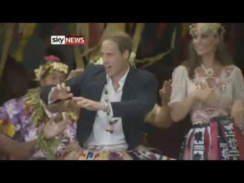 Kate And William Dance In Tuvalu On Jubilee Tour
