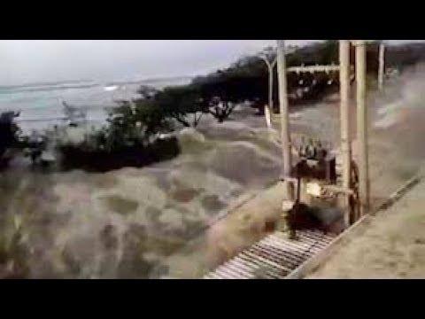 Thảm Họa động đất Vs Sóng Thần ở Indonesia Năm 2018 I Earthquake Vs Tsunami Disaster In Indonesia