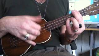 Melody in F ukulele