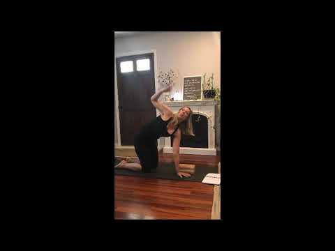 yoga for digestion with maleesa  youtube