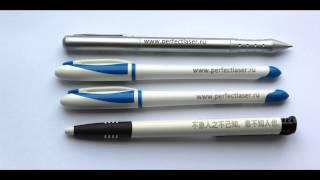 Маркування сувенірної продукції (ручки) на обладнанні Perfect Laser PEDB-400B
