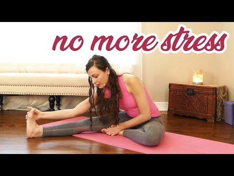 Stop Burn Out, Stress & Lack of Motivation with Melissa ♥ Deeply Relaxing Yin Stretches & Meditation