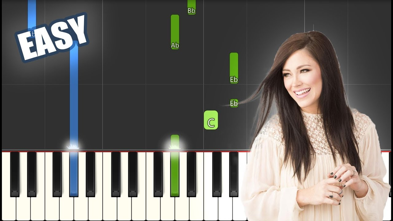 Forever   Kari Jobe   EASY PIANO TUTORIAL + SHEET MUSIC by Betacustic