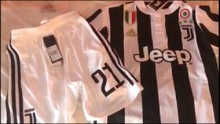 Gogoalshop.com Juventus 17/18 Home Cheap Soccer Jerseys Kit Unboxing Review