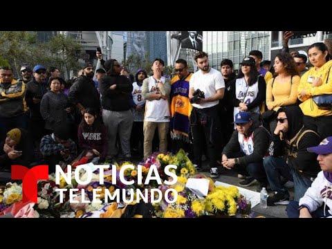 EN VIVO: Noticias Telemundo con detalles del accidente en el que murió Kobe Bryant