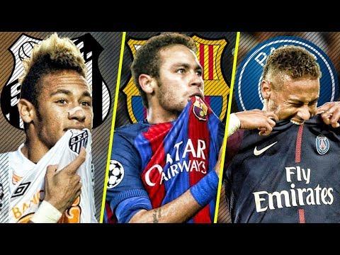 Neymar in Santos VS Barcelona VS PSG |HD