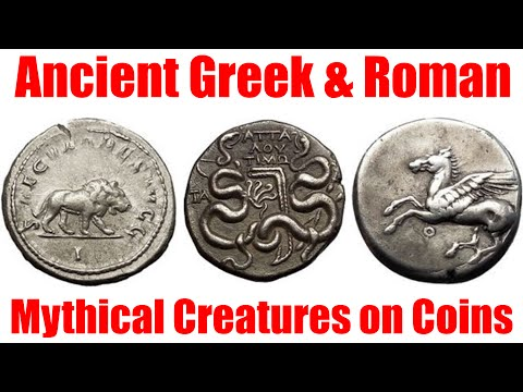 Mythical Creatures on Ancient Greek and Roman Coins