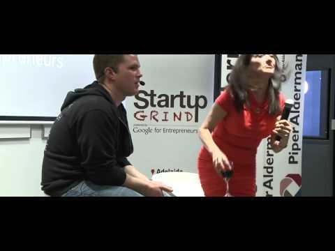 Leila Henderson (News Maker) at Startup Grind Adelaide