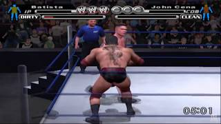 WWE SmackDown! vs. Raw PS2 Gameplay HD