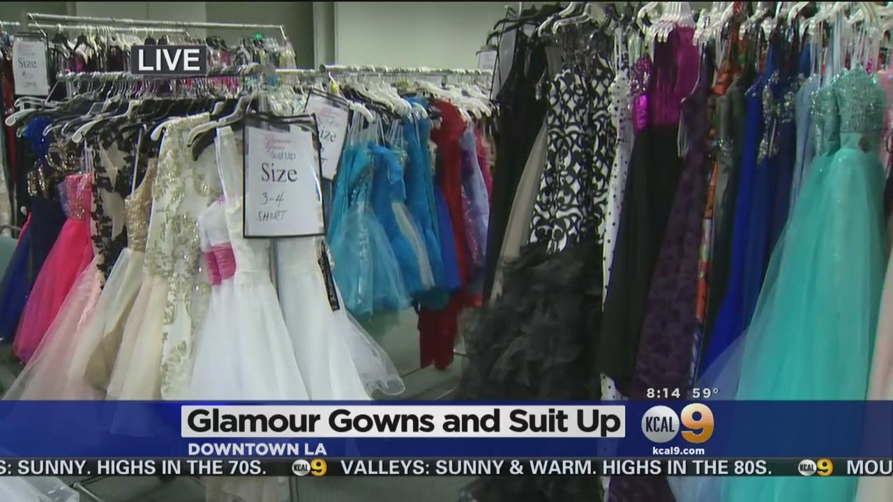 Downtown La Event Offers Foster Children Prom Dresses Other Formal Wear You