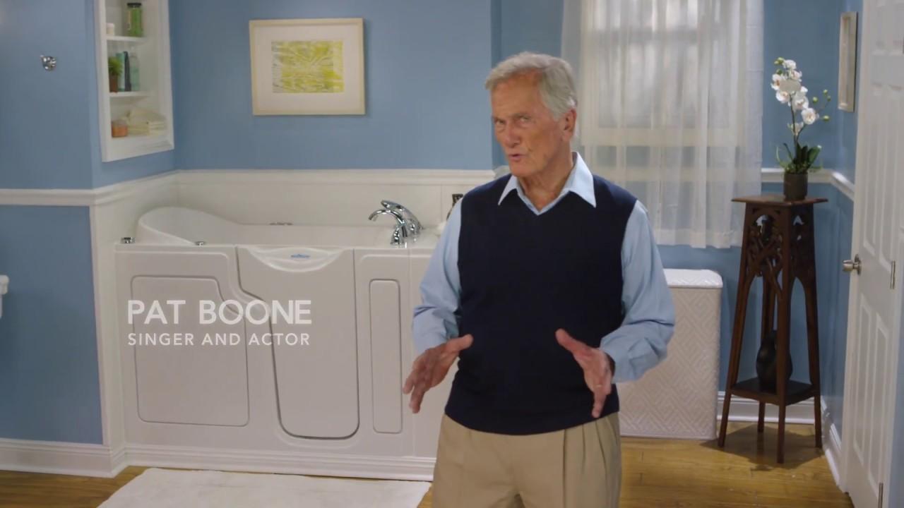 Safe Step Walk-In Tub Co. Pat Boone \