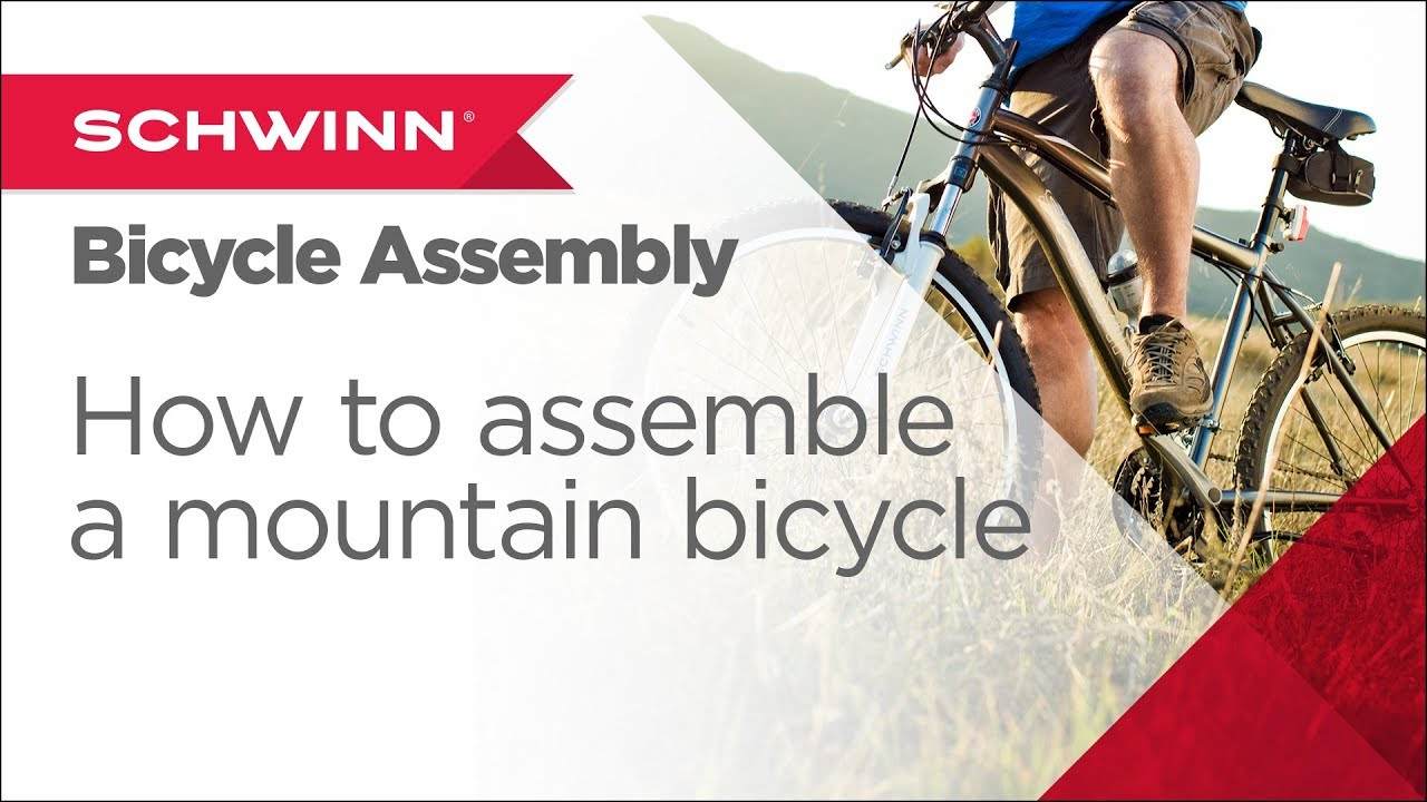 How to Assemble a Schwinn Adult Mountain Bicycle with Shifters