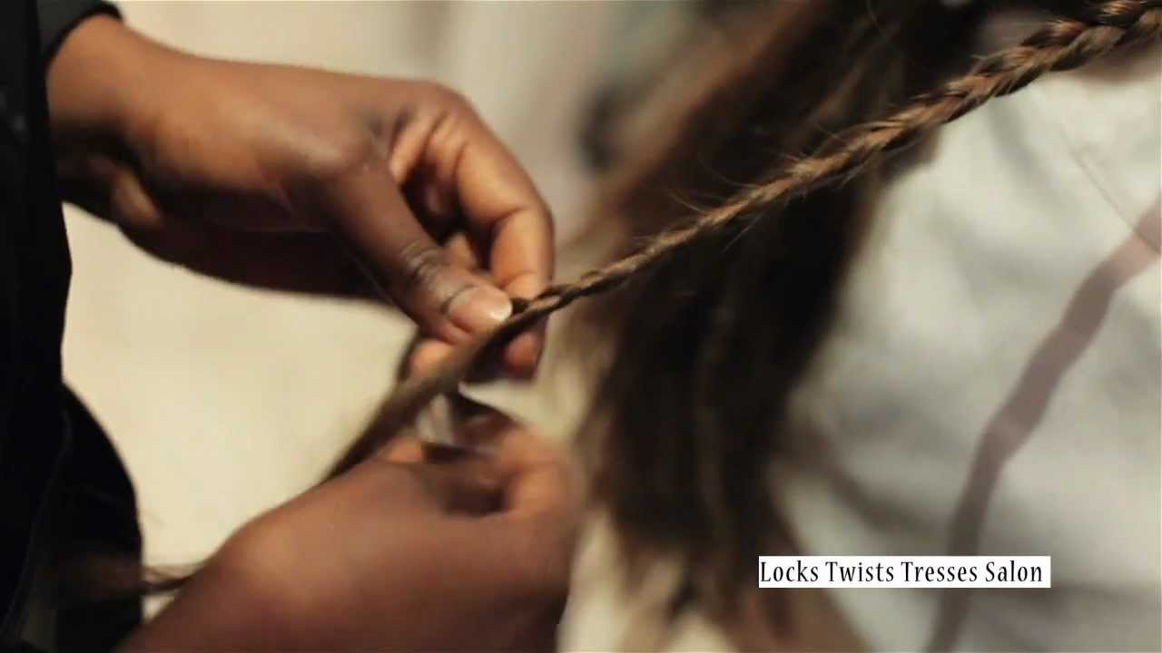 Pose de locks extensions locks twists tresses salon youtube - Salon de coiffure dreadlocks paris ...