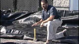 Installing Geotextile on the Sub Grade