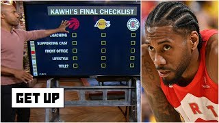 Kawhi's best-case scenario: Lakers, Raptors or Clippers? | Get Up