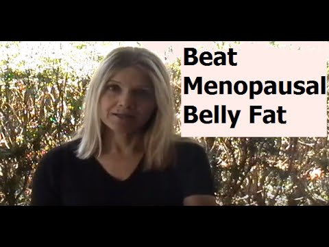 How to get rid of menopausal belly