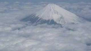 Mt. Fuji seen from the airplane Part2 (Japan)