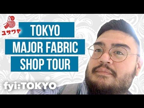 TOKYO FABRIC SHOP TOUR