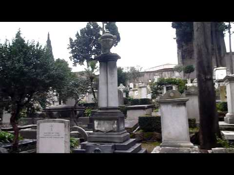 Protestant Cemetery Rome * Cimitero protestante Roma * Protestantische Friedhof Rom PART 1