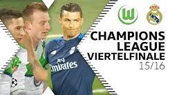 Wölfe besiegen Ronaldo, Bale & Co. | VfL Wolfsburg - Real Madrid 2:0 | CL-Viertelfinale 15/16