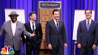 Pictionary with Ryan Seacrest and Cedric the Entertainer