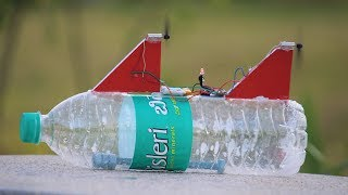 How to make a Bottle Boat - DIY Boat