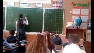 Открытые уроки учителей начальной школы