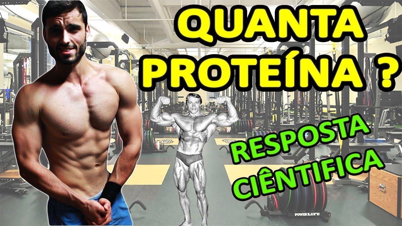 Ingestao de proteinas para atletas