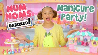 Unboxed! | Num Noms | Episode 6: Num Noms Manicure Party with Polish-It Noms!