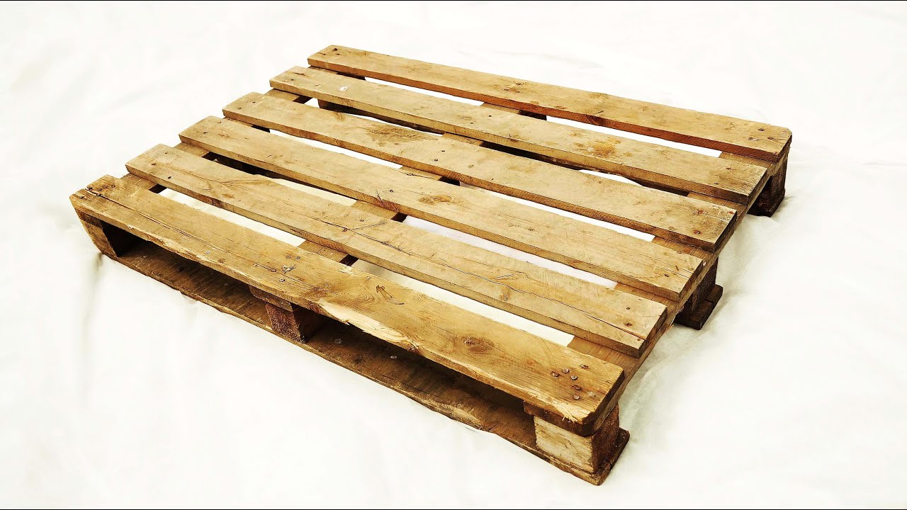 Do not throw away old pallets! Make a cool idea!