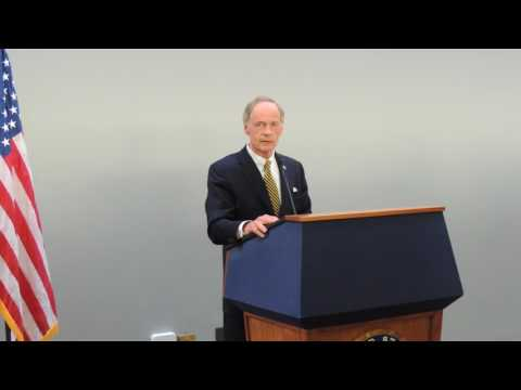 United States Senator Tom Carper -  Speech at 2017 Water Week Hart Reception