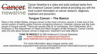 Tongue Cancer -- The Basics