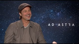Brad Pitt interview - Ad Astra, Fight Club, Fincher, Once Upon a Time, Butch Cassidy