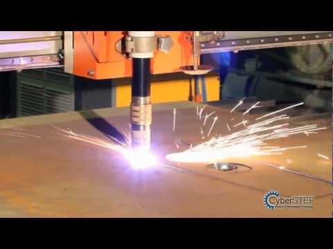 видео: Плазменный раскрой металла. Установка CyberCUT-2060.