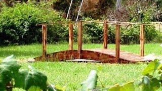 Как сделать мостик на даче. Идеи для вдохновения