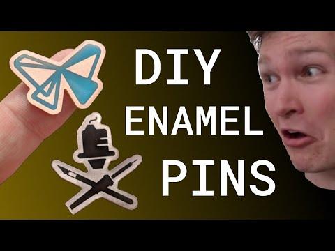 DIY Enamel Pins!
