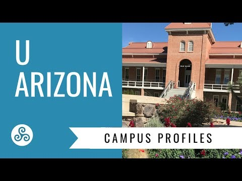 University of Arizona  - campus visit and overview by American College Strategies