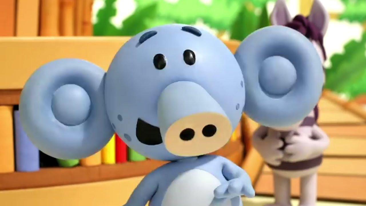 The Singing Elephant | Raa Raa the Noisy Lion | Animated Cartoons For Children